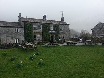 The Falcon pub at Arncliffe