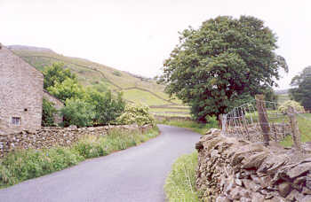 Drystone walls near Austwick, in the Yorkshire Dales
