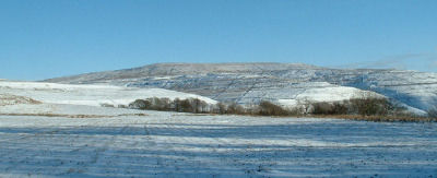 Buckden Pike in winter