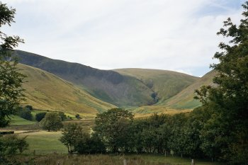 Cautley Crags and Cautley Spout in the Howgill Fells