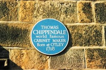 Thomas Chippendale plaque