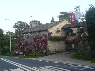 The Swiss Flower House at Coniston Cold