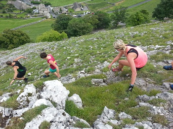 Fell running in the Yorkshire Dales