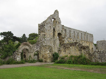 Jervaulx Abbey, near Masham in Wensleydale, in the Yorkshire Dales