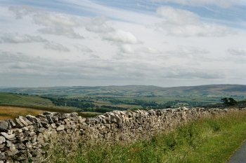 Bowland, viewed from Kingsdale, near Ingleton