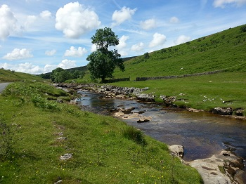 Langstrothdale, a tributary valley of Wensleydale, in the Yorkshire Dales