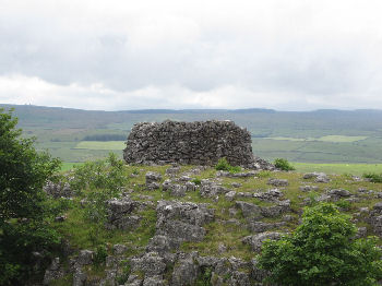 Schoolboy Tower, Giggleswick Scar, Giggleswick, near Settle, Yorkshire
