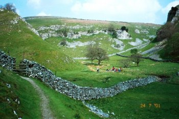 Trollerdale in the Yorkshire Dales