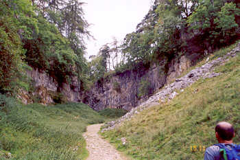 Trow Gill, Clapdale