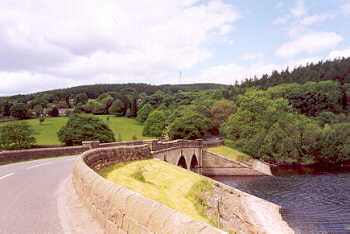 Lindley Wood Reservoir, in the Washburn Valley, Yorkshire Dales