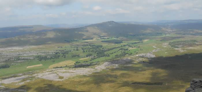 Whernside and Chapel-le-Dale, in the Yorkshire Dales